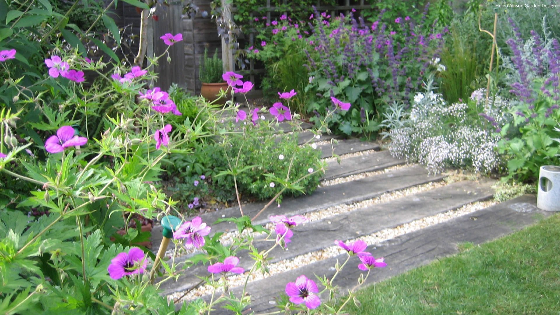 Garden Design by Helen Allison Garden Designer, Suffolk