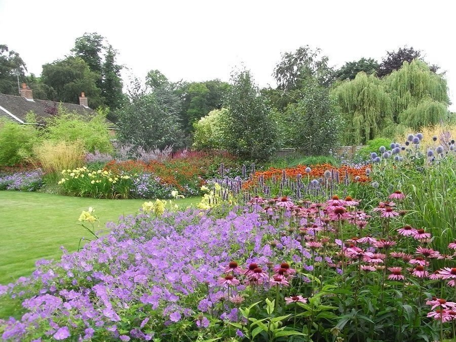 Large New Build Country Garden by Helen Allison Garden Design